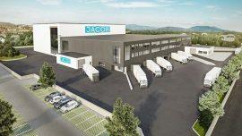 Nowe centrum logistyczne firmy Jacob w Niemczech